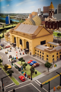 Union Station in Legos