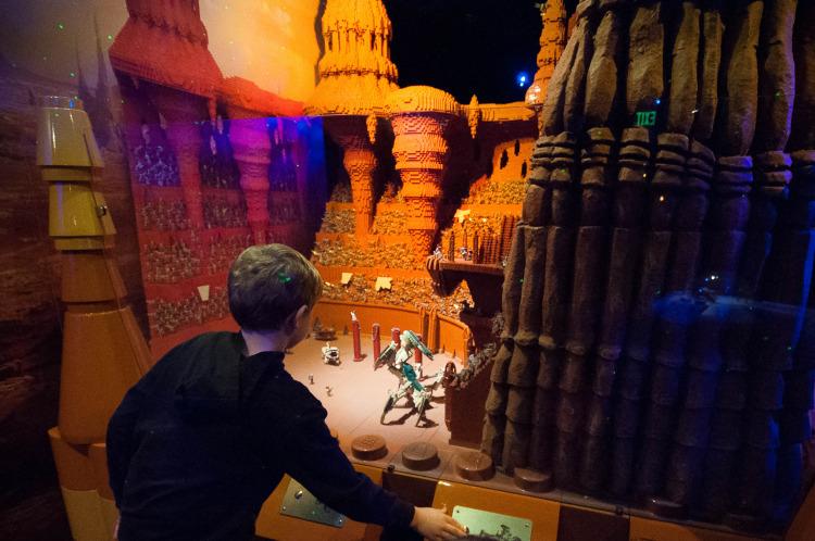 Star Wars Lego Scenes