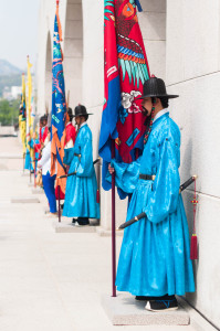 Korean Palace Guards