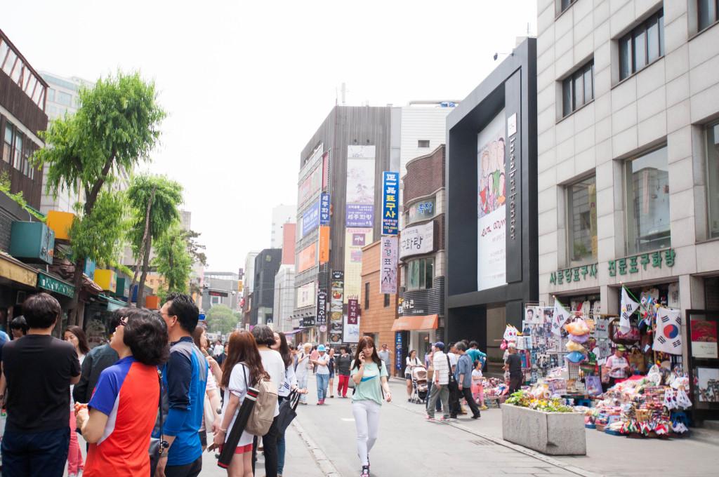 Shopping in Namdaemun