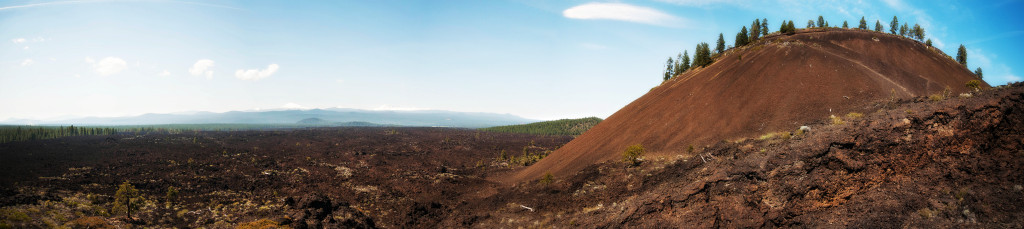 Lava Butte at Lava Lands