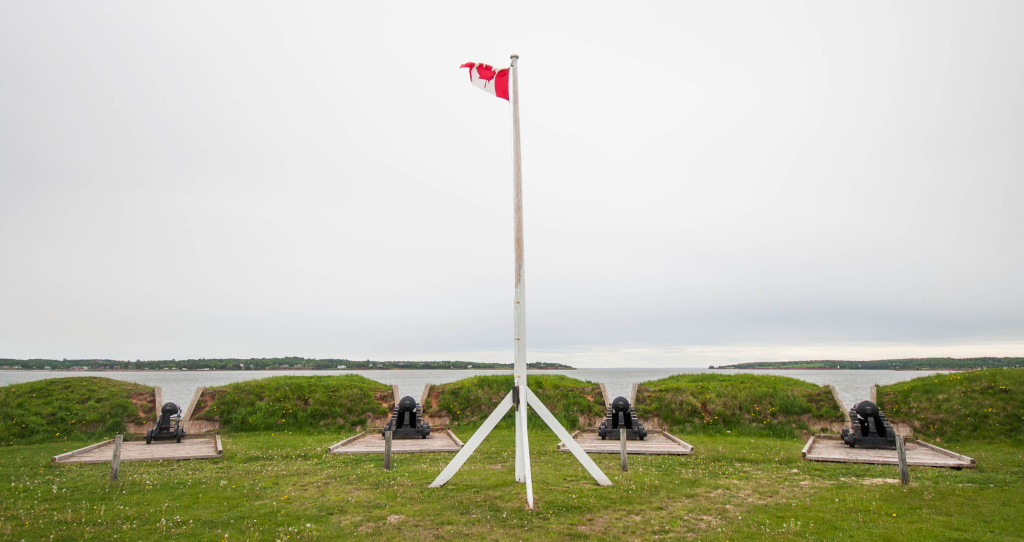 Cannons to protect PEI